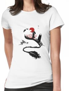 Magical Meeting Womens Fitted T-Shirt