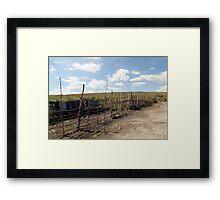 Giotto Dump Site 2.0 - Nakuru Framed Print