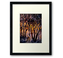 Deep Solitudes Framed Print