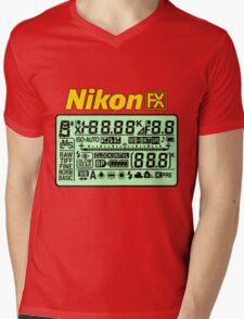 Nikon FX Control Panel Mens V-Neck T-Shirt