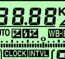 Nikon FX Control Panel Sticker