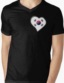 South Korean Flag - South Korea - Heart T-Shirt