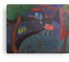 RoadBlue Canvas Print