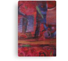 WalkingBlue Canvas Print