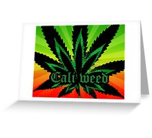 Cali Good Greeting Card