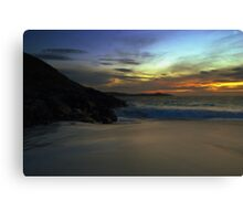 Meal Beach,Shetland Islands Canvas Print