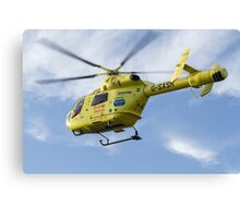 G-SASH Yorkshire Air Ambulance Canvas Print