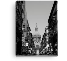Calle Alfonso Canvas Print