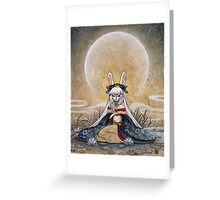 Reflect - Usagi Moon Rabbit Greeting Card