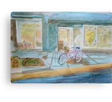 The Parked Pink Cruiser Canvas Print