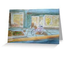The Parked Pink Cruiser Greeting Card