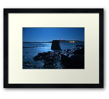West Voe Beach,Sumburgh,Shetland. Framed Print
