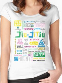 BJJ Women's Fitted Scoop T-Shirt