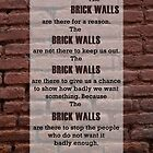 Brick walls iPhone Case by Hilda Rytteke