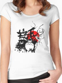 Japan Spirits Women's Fitted Scoop T-Shirt