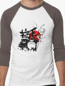 Japan Spirits Men's Baseball ¾ T-Shirt