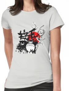 Japan Spirits Womens Fitted T-Shirt