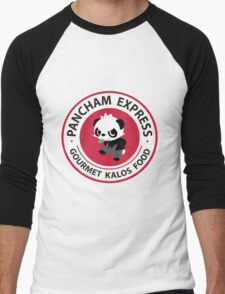 Pancham Express Men's Baseball ¾ T-Shirt
