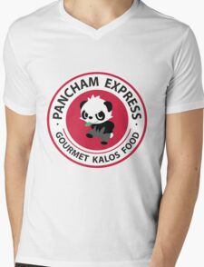 Pancham Express Mens V-Neck T-Shirt