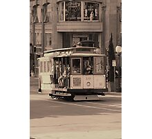 Cable Car  Photographic Print