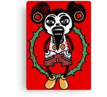 bad Mickey Mouse Canvas Print
