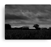 Troubled Sky Canvas Print
