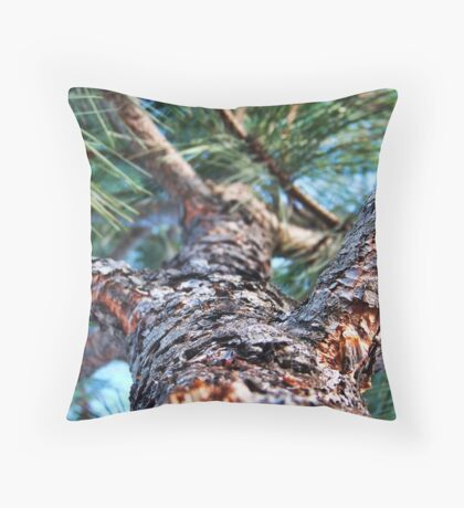 Rocky's Escape Throw Pillow