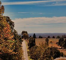 Autumn on The Rise by Rick  Friedle