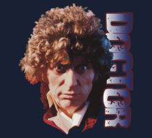Fourth Doctor Portrait by ideedido