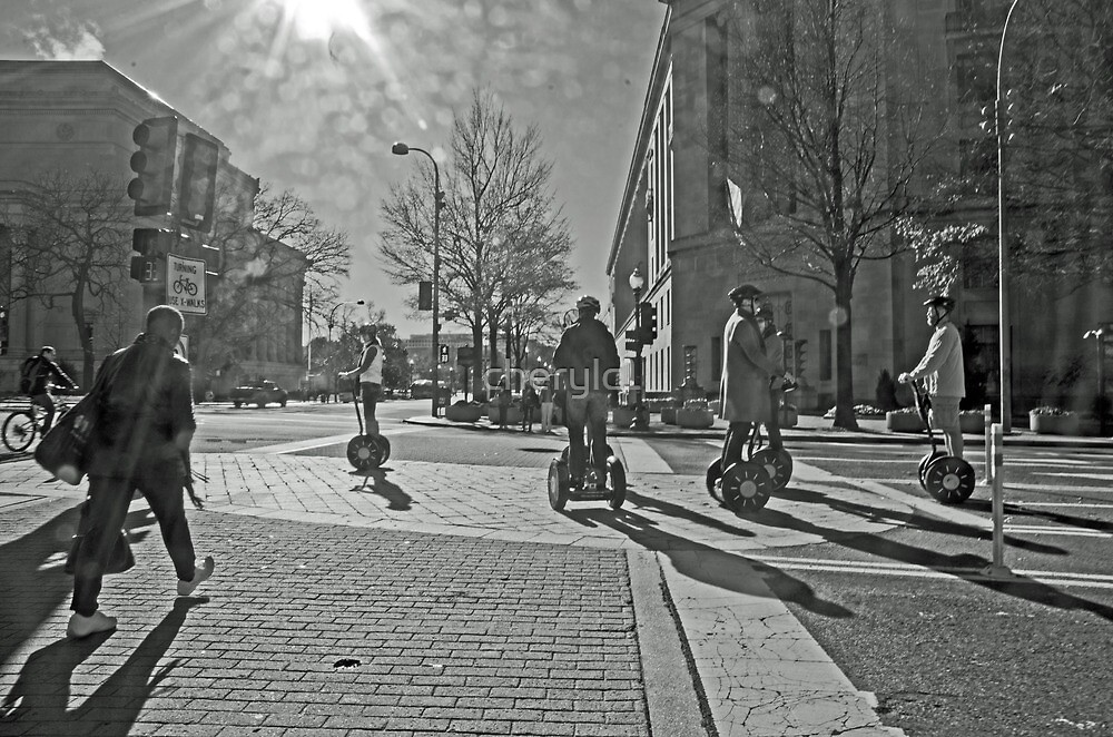 Streets of Washington DC by cherylc1