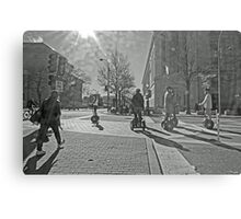 Streets of Washington DC Metal Print