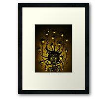 Firefly Fae Framed Print