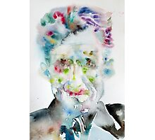 GEORGE ORWELL - watercolor portrait.5 Photographic Print