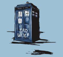 Bad Wolf Tardis by Ilona Hibernis