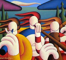 white soft musicians by Alan Kenny