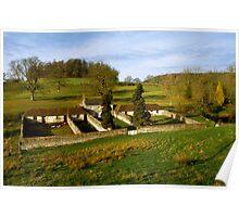 Heritage Farm, Stourton, Wiltshire, UK Poster