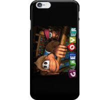 Donkey Kong Country 3 Game Over Landscape iPhone Case iPhone Case/Skin