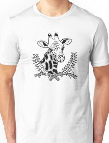 Giraffe and Acacia Unisex T-Shirt