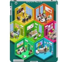 Business Cell Isometric iPad Case/Skin