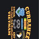 Currahee - 101st Airborne - Vietnam Patch - iPhone Case by Buckwhite