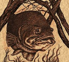 Largemouth Bass by Kathleen Kelly-Thompson
