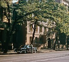 North east side Collins St 195701210004  by Fred Mitchell