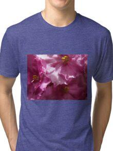 Naughty Little Flowers Tri-blend T-Shirt