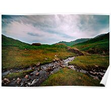 Langdale Valley Stream Poster