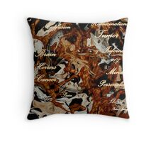 TUMOR OF THE BRAIN....INFERNO OF THE MIND Throw Pillow