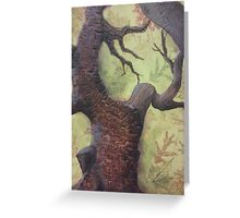 Bark Textures Greeting Card