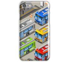 City Bus Set iPhone Case/Skin