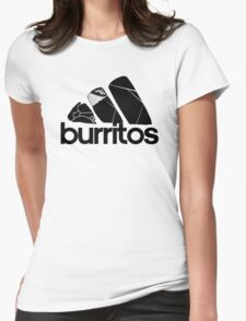 BURRITOS Womens Fitted T-Shirt