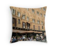 Piazza del Campo Throw Pillow