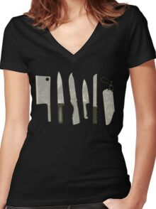 The Right Tool for the Job Women's Fitted V-Neck T-Shirt